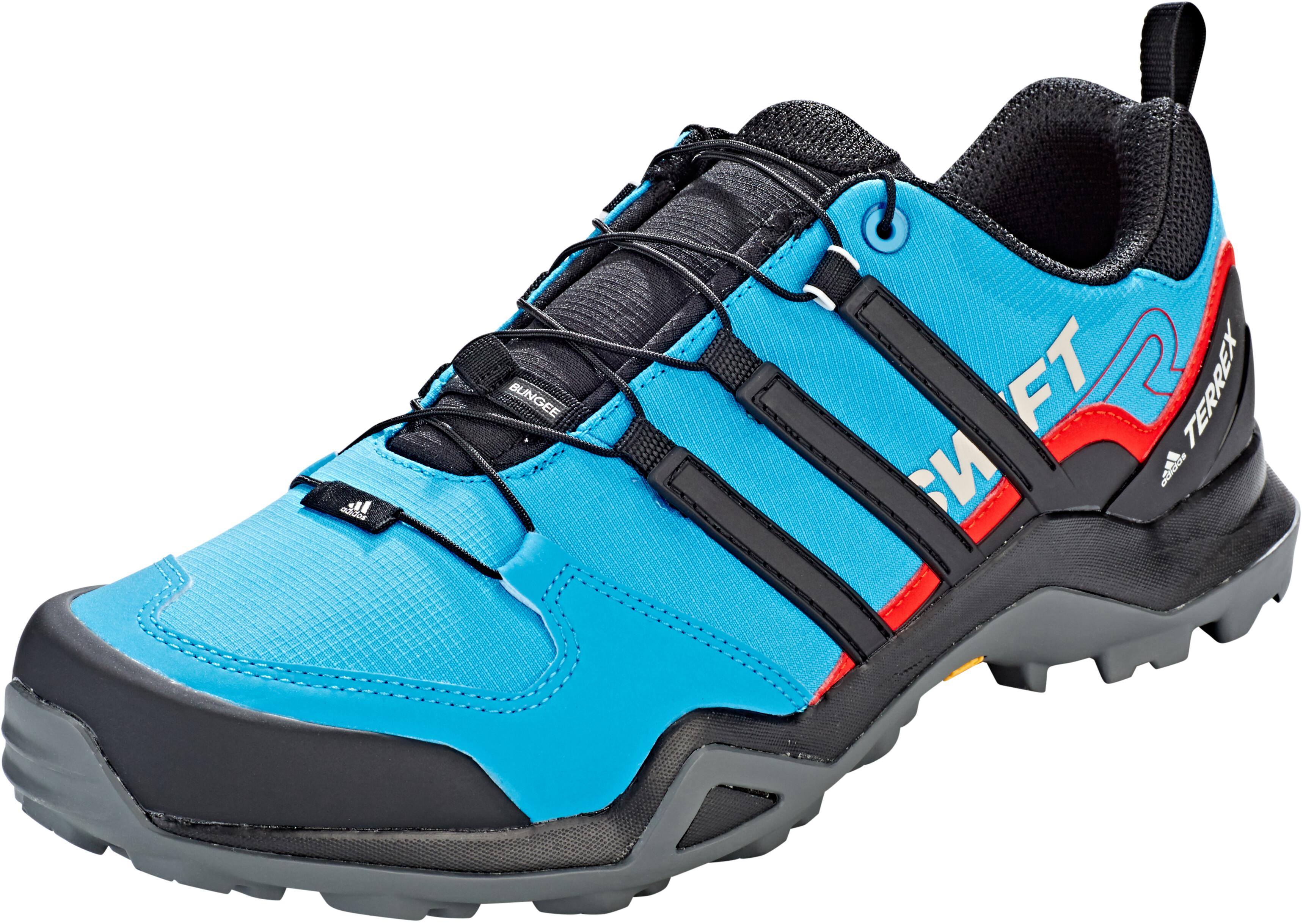 wholesale online new images of 2018 shoes adidas TERREX Swift R2 Schoenen Heren, shock cyan/core black/active red